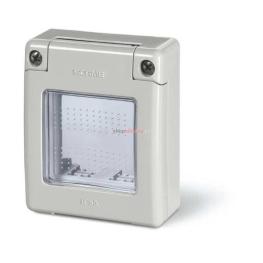 Casquete 2 Mod.Ip55 P/Tablero Comb. Domino-Block,P/Montar Serie Evolu.