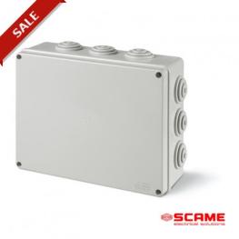 Caja Derivacion Estanca Ip55 Gw 650º C 100X100X50Mm 6 Conos P/Pg21