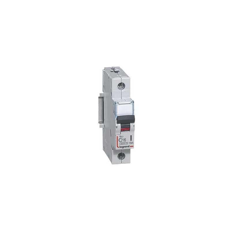Interruptor Magnetotérmico Tx3 6000  Curva C 10A Bipolar Legrand
