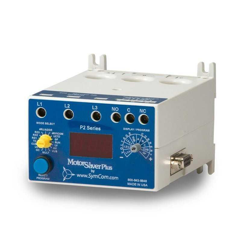 Rele Sobrecarga 3F 200-480VAC / 2-800A / Plus
