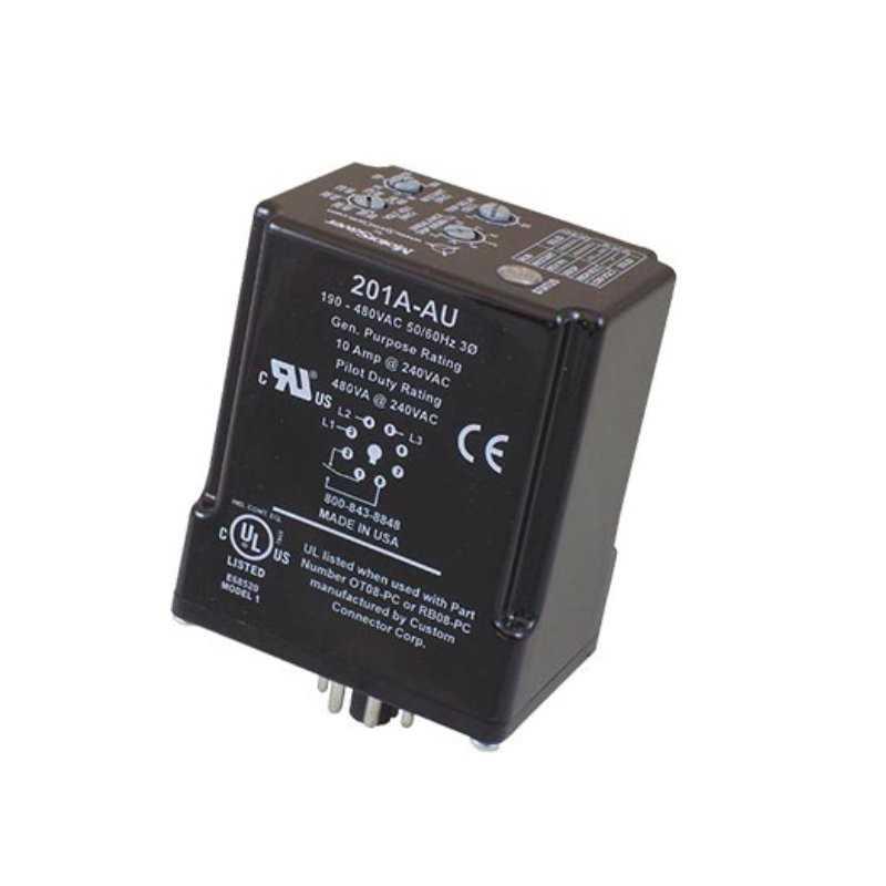 Monitor de Tensión Plug-in Trifásico / 190-480V