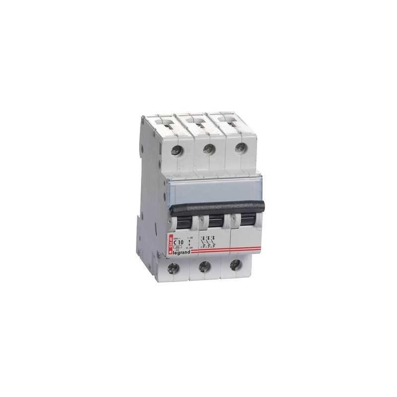 Interruptor Magnetotérmico Tx3 6000  Curva C 20A Tripolar Legrand