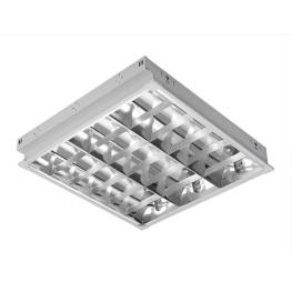 Equipo Alta Eficiencia Fluorescente 3X18W con ballast electrónico - Bm Electric