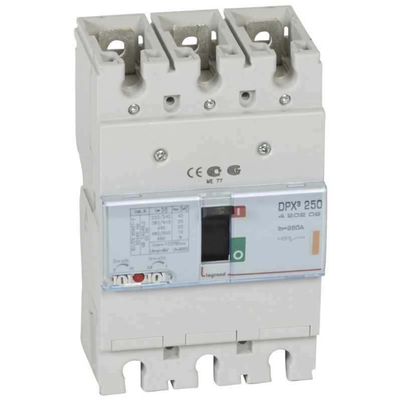 Caja Moldeada Disyuntor Termomagnetico 250 3X250A 25Ka Legrand