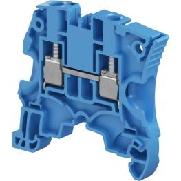 Borne  Neutro Estandar 6Mm Azul  Zs6-Bl ABB