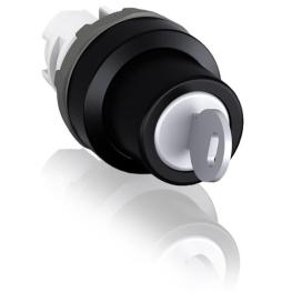 Cabezal para Selector 2 Posiciones Fijas Luminoso Rojo S/Contactos ABB