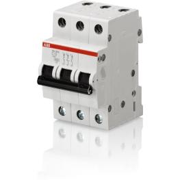 Interruptor Automatico 3P 2A Z 25Ka S203 P-Z 2 Abb