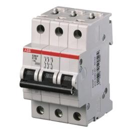 Interruptor Automatico 3P 32A C 6Ka Sh200 Abb