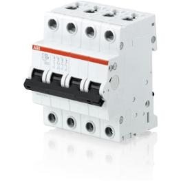 Interruptor Automatico 4P 6A C 15Ka S200M Abb