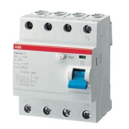 Interruptor Diferencial 4P 63A 300Ma ABB