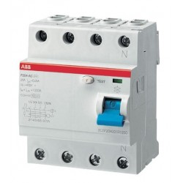 Interruptor Diferencial 4P 63A 300Ma F200 Abb