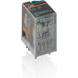 Relé Capsulado Cr-U048Ac3 Control: 48V A.C. Abb