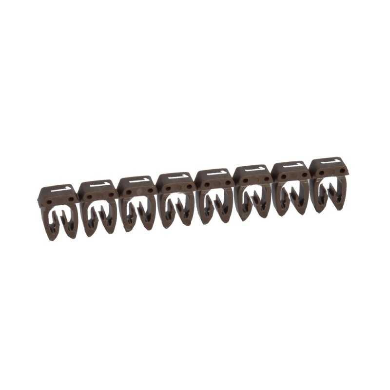 Marcador para Cables 0,5-1,5mm café - Legrand