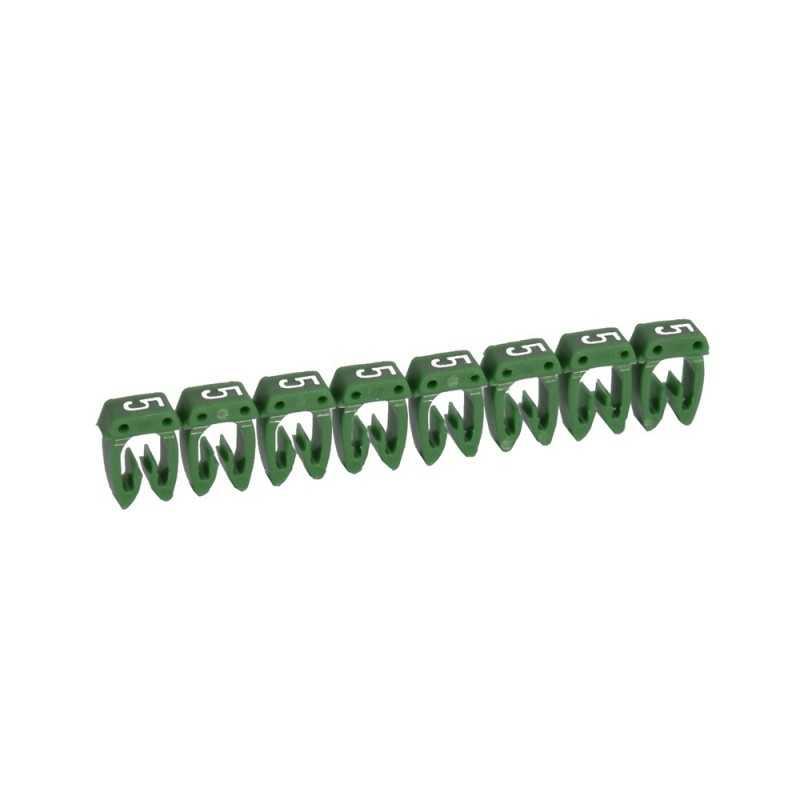 Marcador para Cables 0,5-1,5mm verde - Legrand