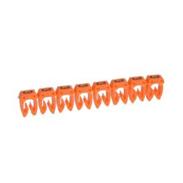 Marcador para Cables 1,5-2,5mm Naranjo Legrand