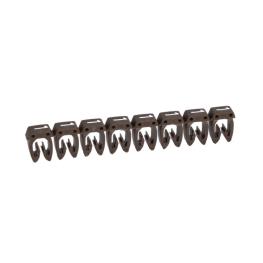 Marcador para Cables 1,5-2,5mm café - Legrand