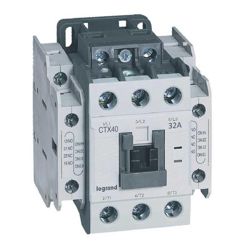 Contactor Ctx 3P 32A 2Na2Nc  230V Ac Legrand
