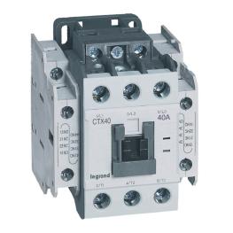 Contactor Ctx 3P 40A 2Na2Nc  230V Ac Legrand