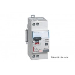 Disyuntor Dx3 Diferenciales Monoblock 6000 10 Ka Curva C  Unipolar+Neutro Tipo Ac  Legrand