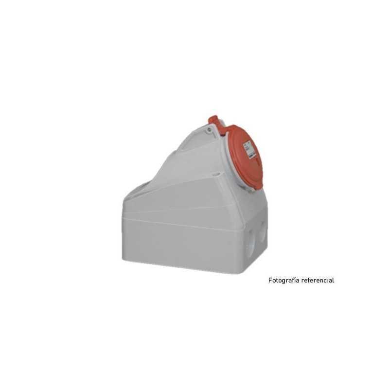 Enchufe Industrial P17 Sobrepuesta 3P+N+T 32A/380V . Legrand