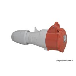 Enchufe Industrial P17 Vol.2P+T 16A/220V   . Legrand