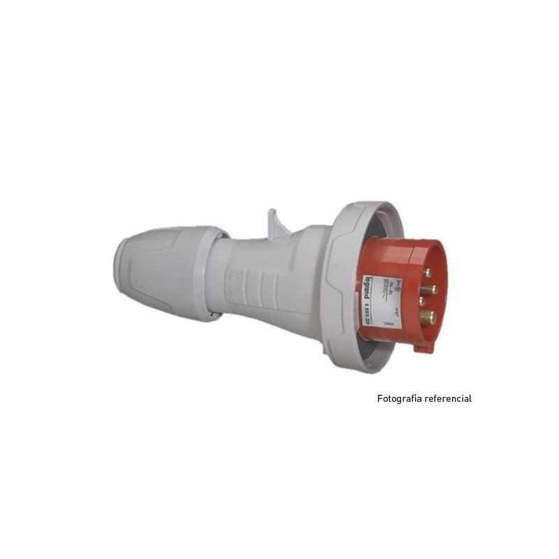 Enchufe Industrial P17/Macho Vol.3P+T 32A/380Ip67 Legrand