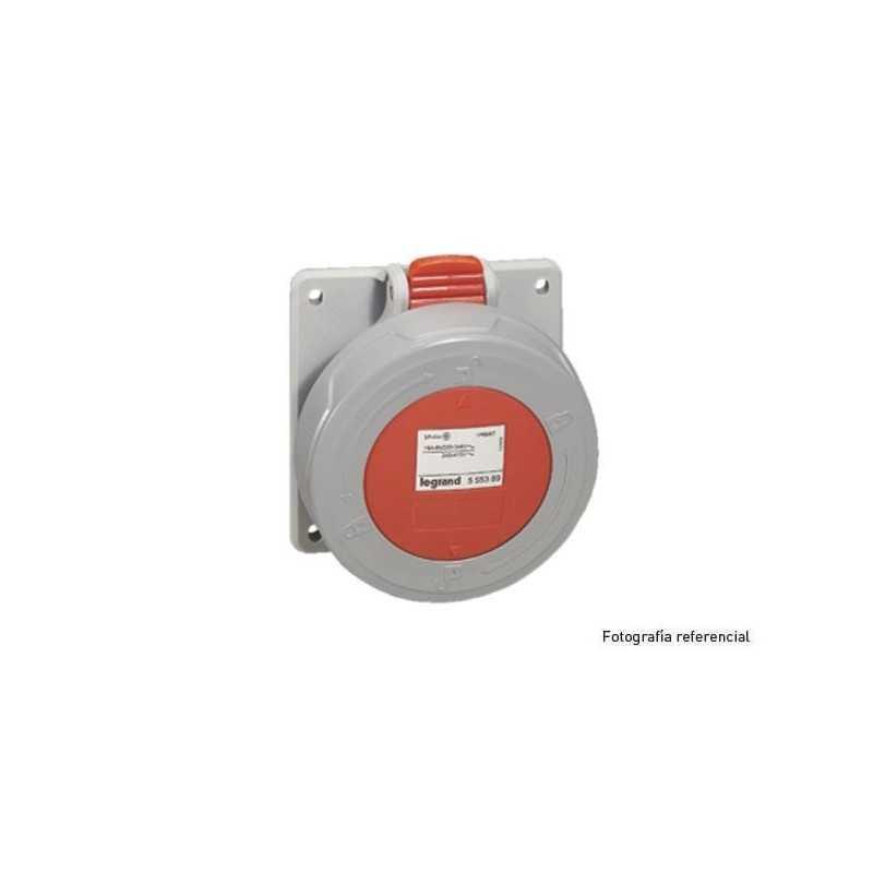 Enchufe Industrial P17/Toma Emb.3P+T 16A/380V Legrand