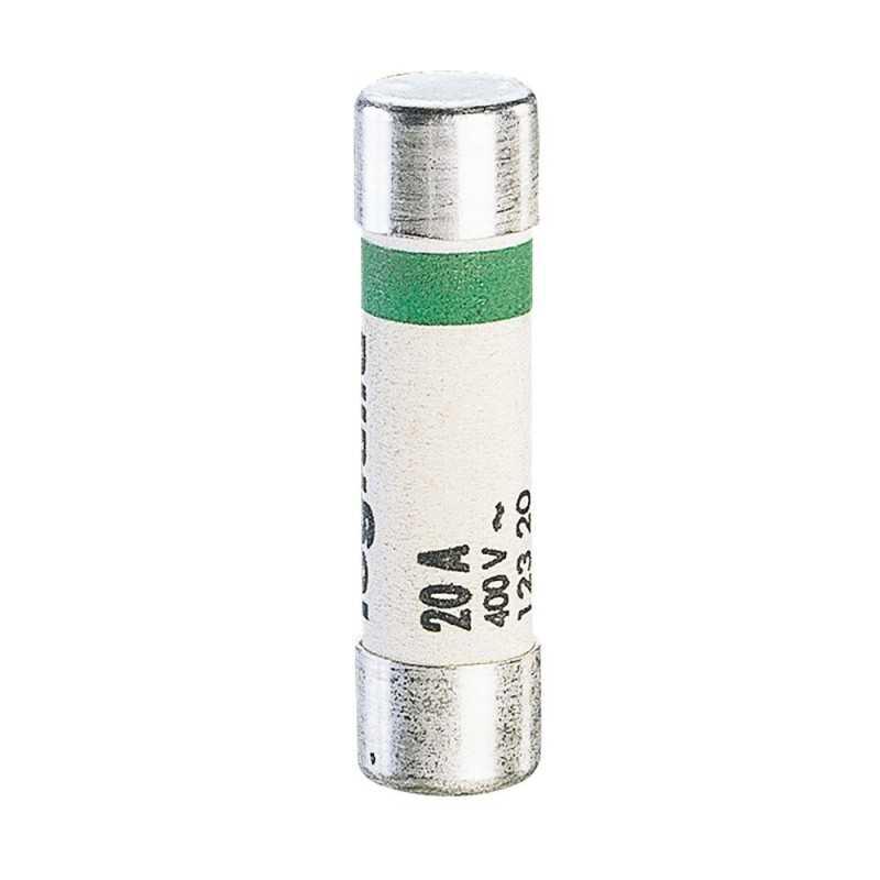 Fusible Baja Intensidad Cilíndrico Residencial 8.5X31.5 20A. Legrand