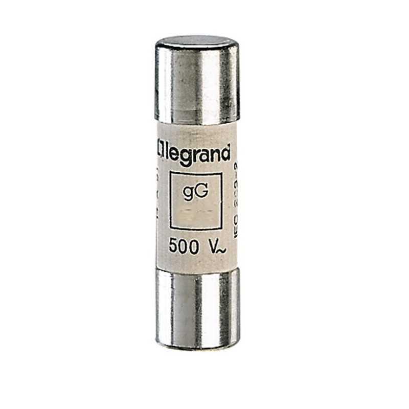 Fusible Industrial Cilíndrico Tipo Gg(Rápido) 14X51 50A. Legrand