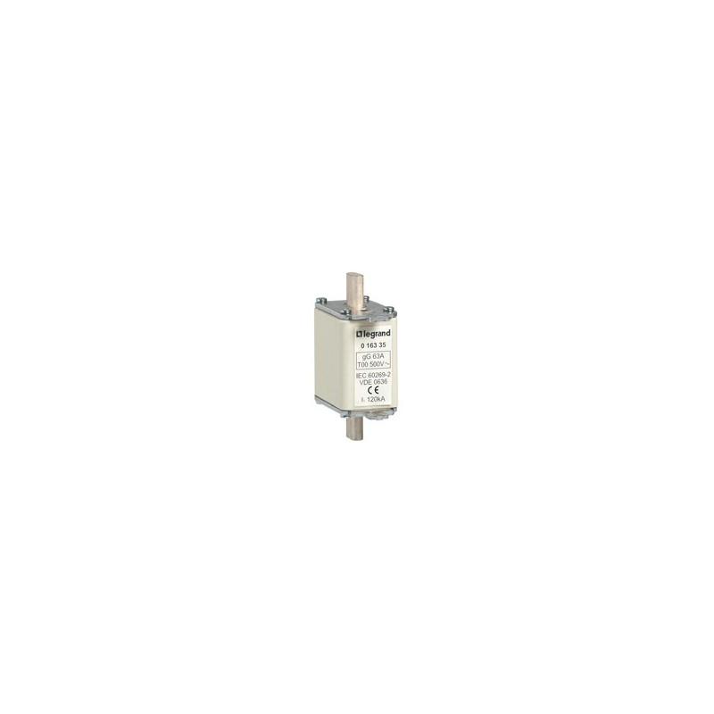 Fusible Industrial De Cuchilla  Tipo Gg(Cei)/Gl(Vde) Talla 00 80A. Con Indicador Legrand
