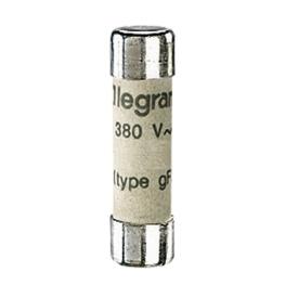 Fusibles Industriales Cilíndircos Tipo Gg(Rápidos) 8X32 12A. Legrand