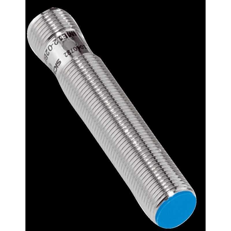 Sensor inductivo M12, alcance: 4mm, rasante