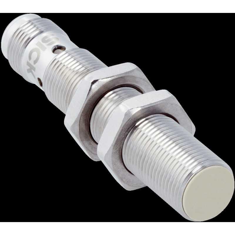 Sensor inductivo M12, alcance 4 mm, rasante