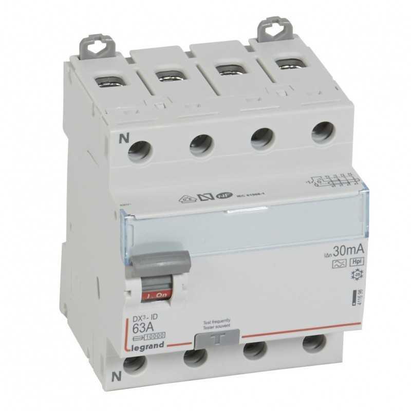 Interruptor Diferencial 4X63A 30Ma Hpi Legrand