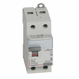 Interruptor Dx3 Diferencial  Tipo Ac Bipolar Legrand