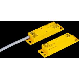 Switch magnético de seguridad actuador tres contactos N O