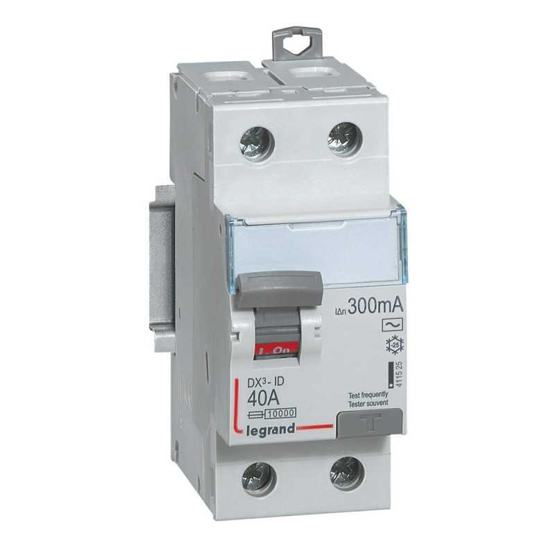 Interruptor Dx3 Diferencial  Tipo Ac Bipolar Legrand