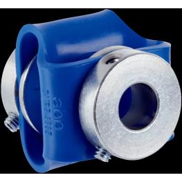 Copla flexible de goma para encoders diámetro entrada 10 mm salida 12 mm