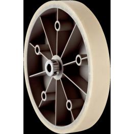 Rueda de medicion para eje solido de 10mm circunferencia 500mm diametro 159.1