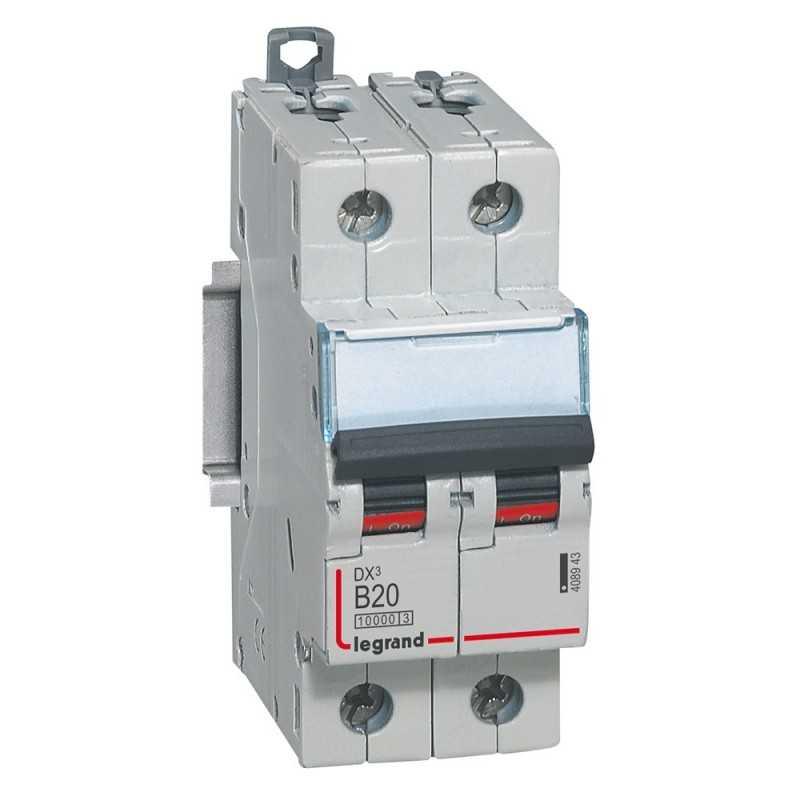 Interruptor Magnetotérmico Dx3 10000 Curva B 16 Ka Bipolar Legrand