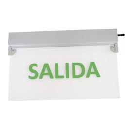 Señalética Emergencia LED 5W