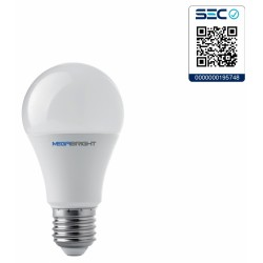 Ampolleta LED A60 Clásica 9,5W/3000K E-27