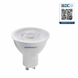 Ampolleta LED PAR16 6.5W/3000K GU-10