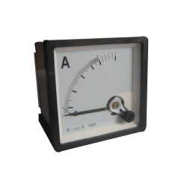 Amperimetro Análogo 0-200 A 96x96 mm