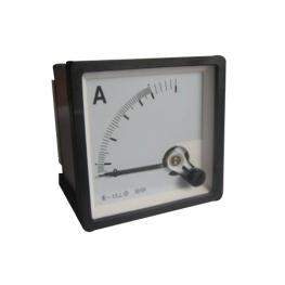 Amperimetro Análogo 0-600 A 96x96 mm
