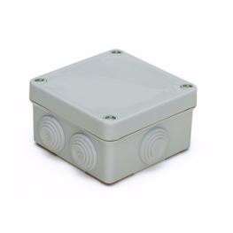 Caja Plastica 85x85x50  mm IP55 con conos