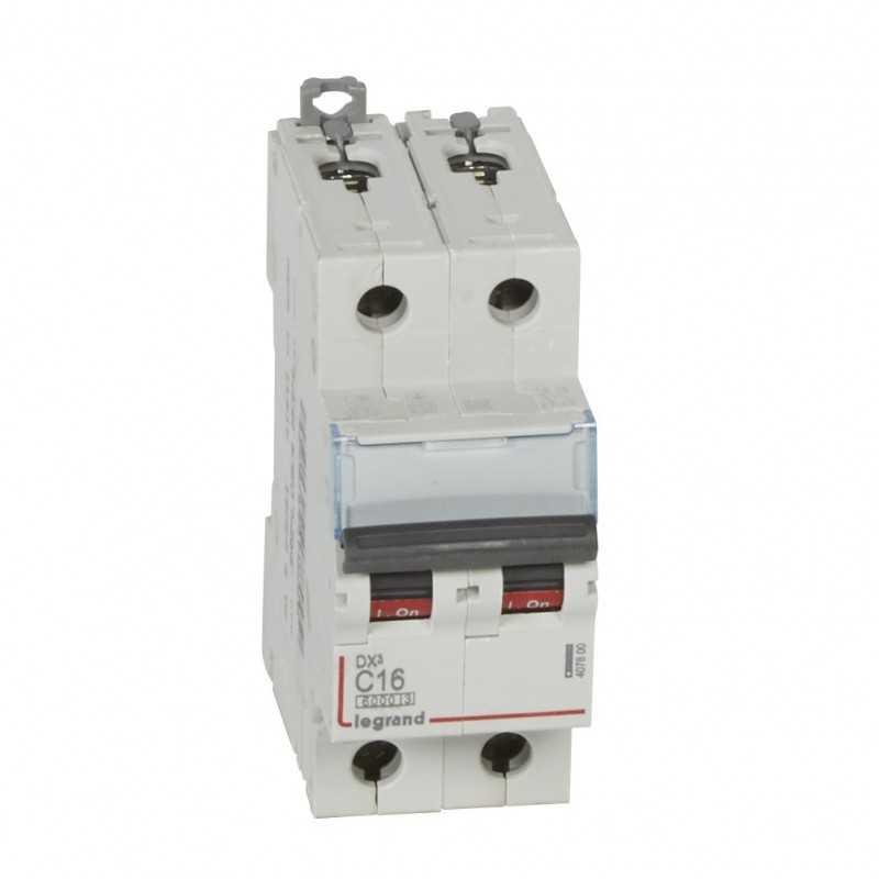 Interruptor Magnetotérmico Dx3 6000 Curva C 10 Ka Bipolar Legrand