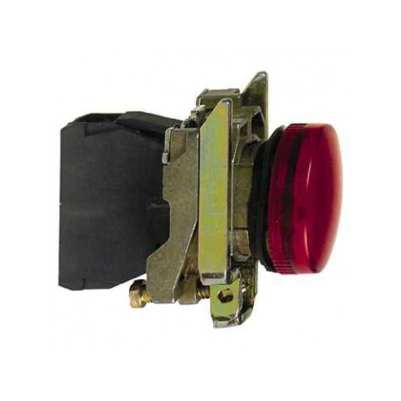Piloto Rojo 22 mm LED 220Vac-Bm Electric