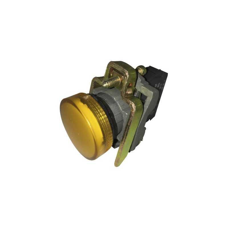 Piloto Amarillo 22 mm LED 220Vac-Bm Electric