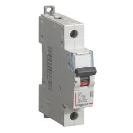 Interruptor Magnetotérmico Dx3 6000 Curva C 10 Ka Unipolar Legrand